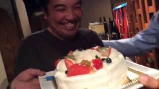 筑青連ネットワーク事業の懇親会で誕生日をお祝いするはずが・・・。