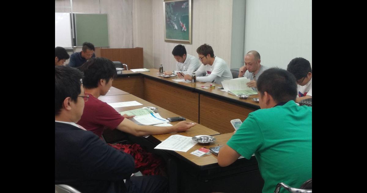 第4回 柳川市商工会青年部 常任委員会開催