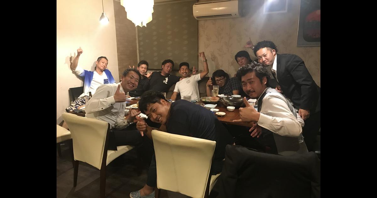 筑青連理事会後の懇親会