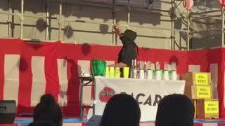 久留米東部商工会青年部夏祭りの際の1コマ